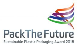 """Logo """"PackTheFutreAward 2018"""""""