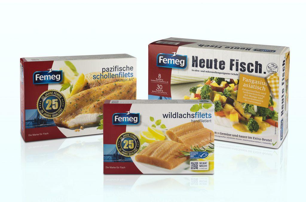 Speziell entwickelte Schmelzklebstoffe kommen beispielsweise beim Verschluss von Femeg-TK-Verpackungen zum Einsatz.
