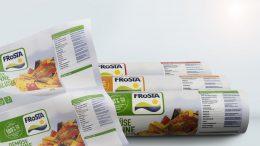Tiefkühlkostspezialist Frosta hat den Druck seiner Folienverpackungen auf wasserbasierte Druckfarben von Follmann umgestellt.
