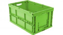 Kunststofffaltbox aus regenerativen Materialien von Walther Faltsysteme