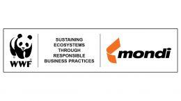 Logo der Klimaschutz-Kooperation von Mondi und WWF