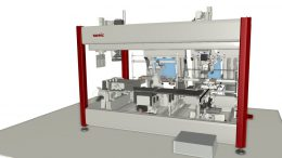 Inbetriebnahme einer Somic-Anlage mit industrialPhysics von machineering