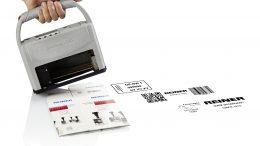 2) Kennzeichnungsgerät jetStamp 1025