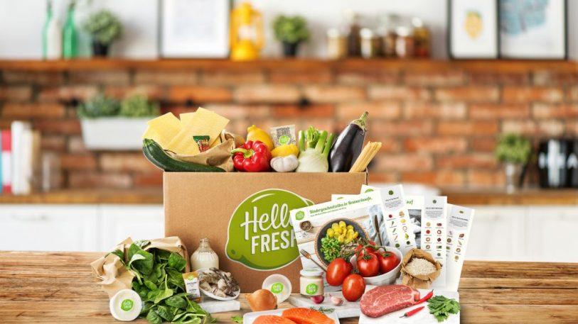 Inhalt einer HelloFresh-Kochbox