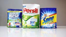 Henkel-Waschmittelbeutel mit Regranulat von Mondi