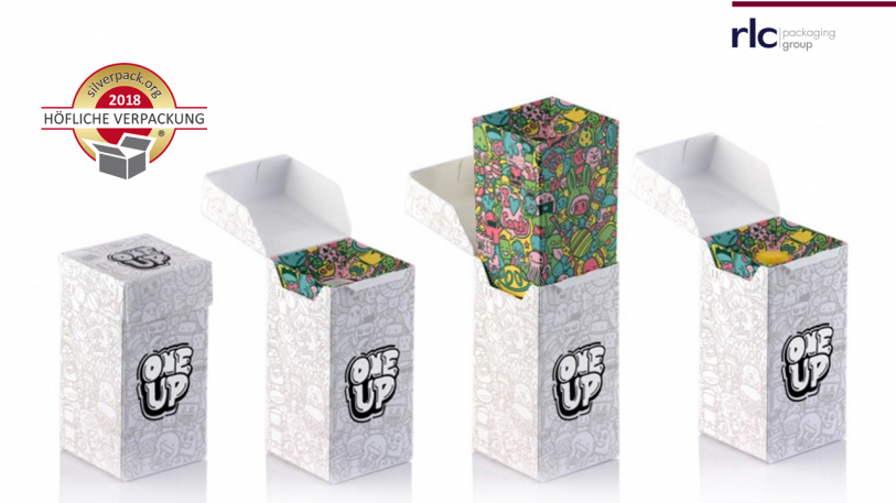 "Faltschachtel ""one Up"" von rlc packaging"