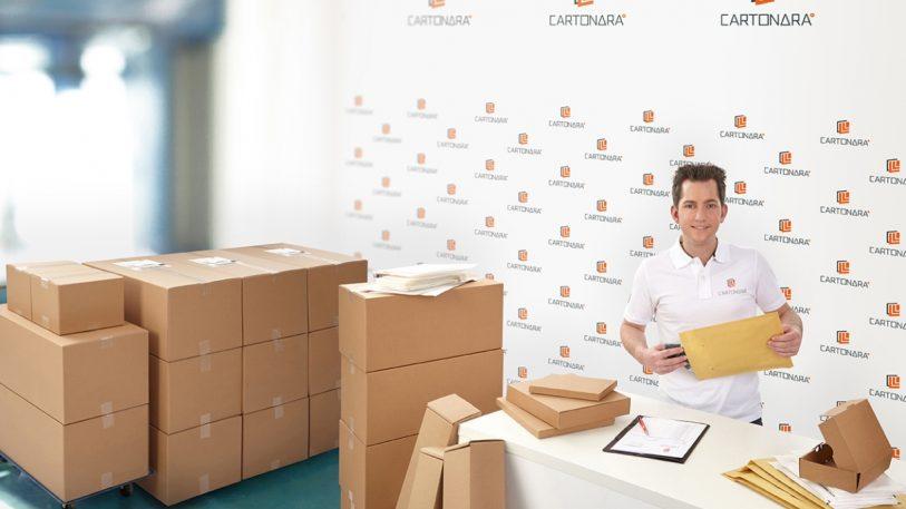 KARTONARA® Onlineshop für Kartons. Bild: THIMM