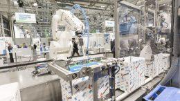 Die Robotik-Pack-Line auf der Anuga FoodTec 2018