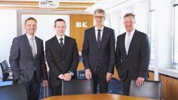 Der Vorstand von Bischof + Klein