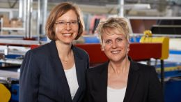 Ellen Kreye-Leder und Nicole Figge (Bild: Kreye Siebdruck GmbH)