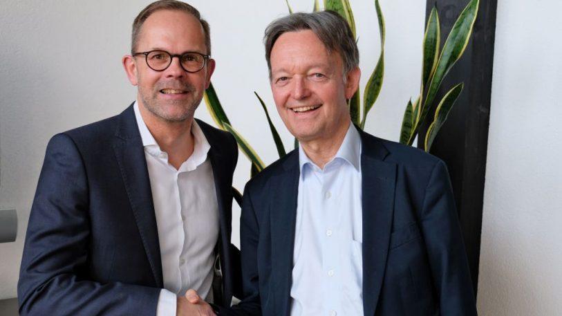 Jan Kurth (l.) und Volker Fasbender