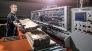 In der modernen Produktion in Rastatt entstehen seit Dezember 2017 unterschiedlichste Verpackungen aus Wellpappe.