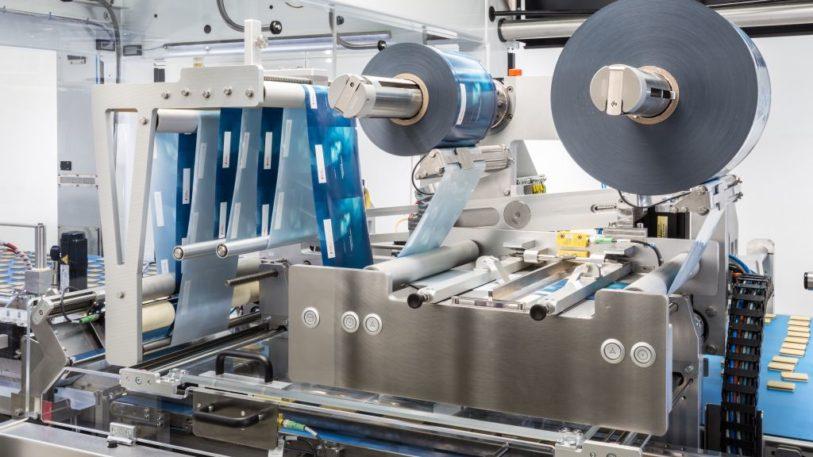 Maschine mit dem Schubert-Flowmodul-Schlauchbeutelaggregat