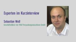 Sebastian Wolf, Wolf Verpackungsmaschinen