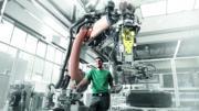 Roboteranlage (Bild: Leuze)