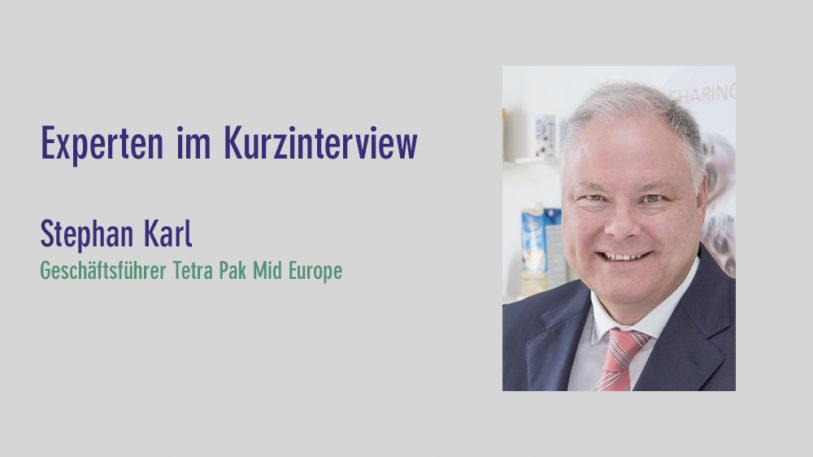 Stephan Karl, Geschäftsführer Tetra Pak Mid Europe