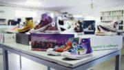 Sneakers bedruckt mit von Kunden online bereitgestellten Motiven (Bild: Memjet)