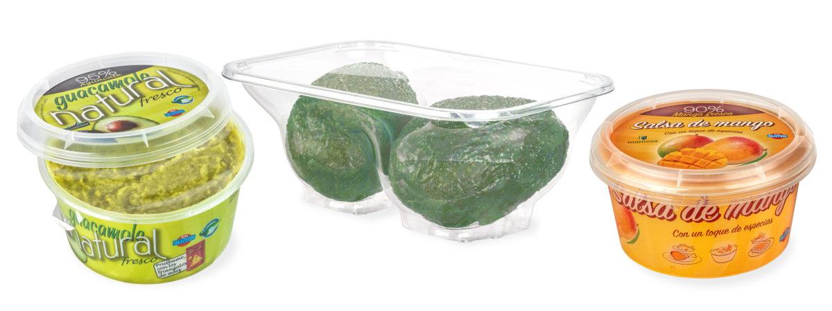 Sicher versiegelt auf einem Sealpac-Traysealer, lassen sich die Avocados leicht stapeln und gut transportieren. (Bild: Sealpac)