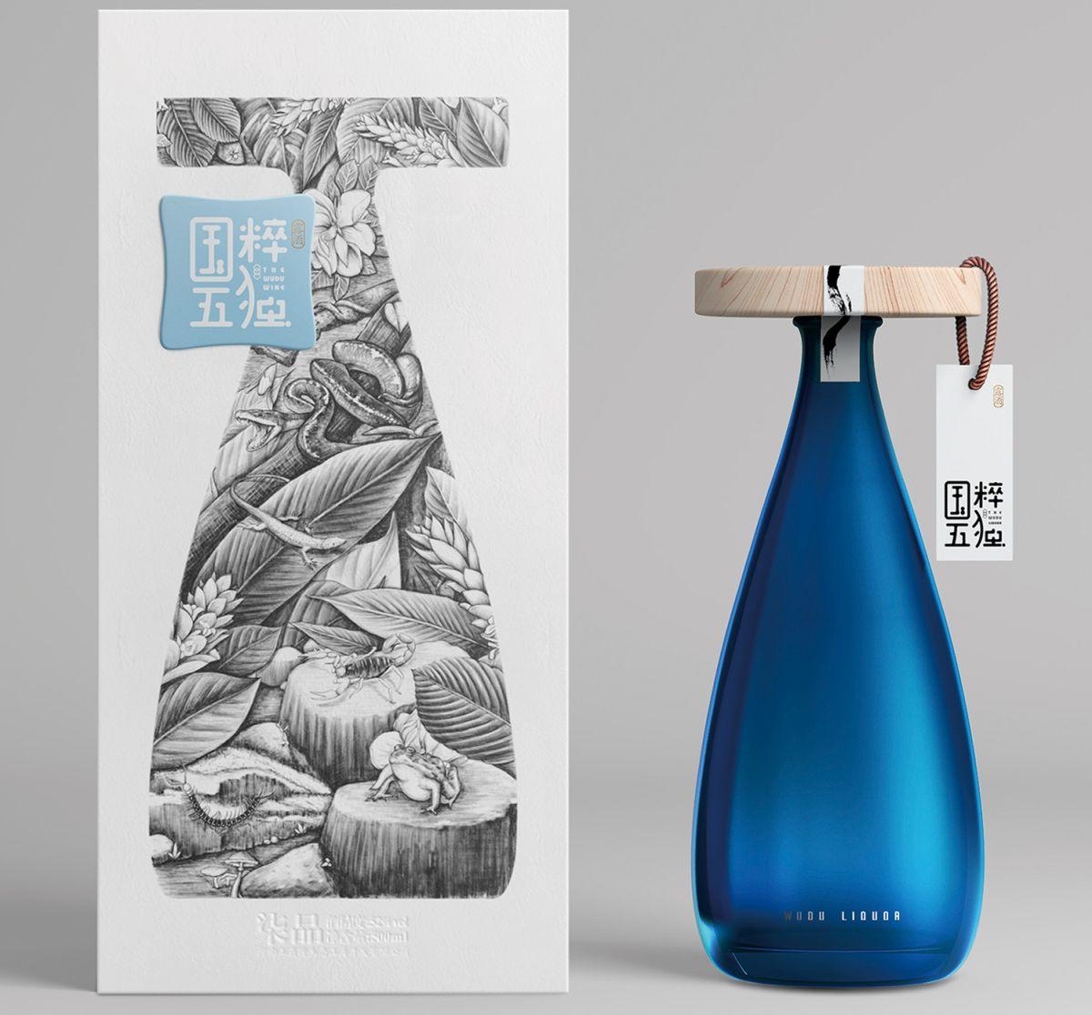 Die Flasche des Getränks YuXinLong gewann bei den Pentawards 2018