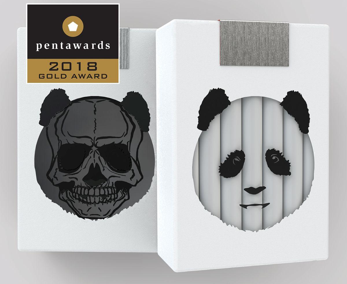 Panda-Zigaretten, Nxt-Gen-Sieger bei den Pentawards 2018