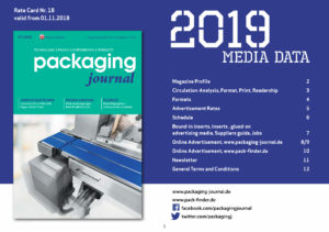 packaging journal media data 2019