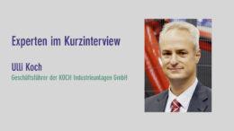 Ulli Koch, Koch Industrieanlagen GmbH