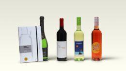 Etiketten für Weinflaschen von Herma