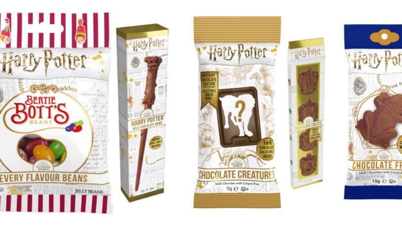Noch mehr Süßigkeiten von Jelly Belly mit Konterfei von Harry Potter