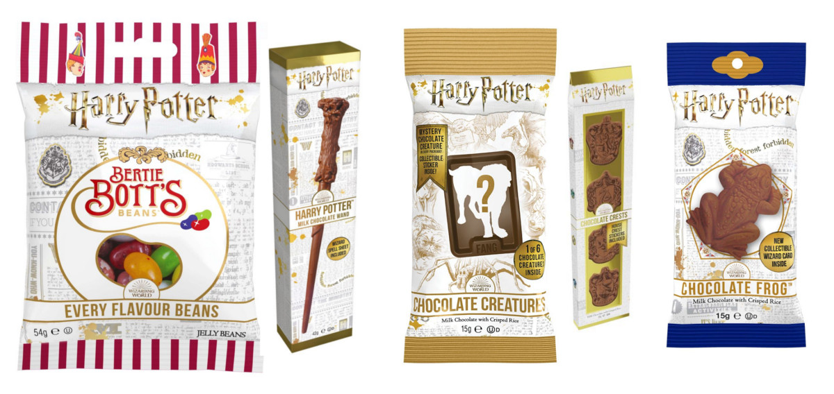 Verpackungen Mit Logo Von Harry Potter Enthalten Besondere