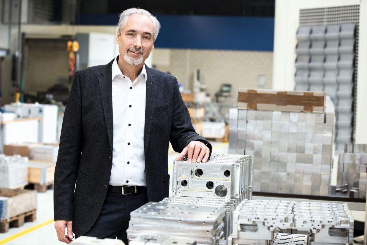 Manfred Grieser war 50 Jahre im selben Unternehmen