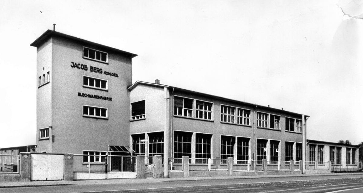 Bericap in Budenheim in den 1960er-Jahren. (Bild: Bericap)