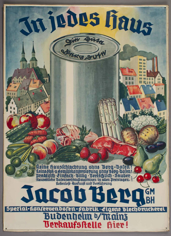 Werbung aus der Zeit zwischen 1930 und 1949. (Bild: Bericap)
