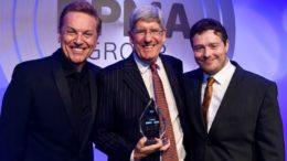 Preisübergabe für Gebo Cermex beim PPMA Industry Award 2018