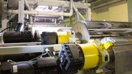 Produktionsanlaga von Buergofol für Monofolien mit hohem Rezyklatsanteil