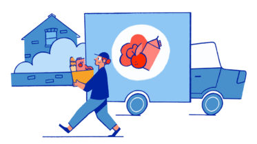 Mit superschnellen Auslieferungen wird der Online-Lebensmittelhandel künftig auch Impuls- und Bequemlichkeitskäufe ermöglichen. (Bild: Tetra Pak)