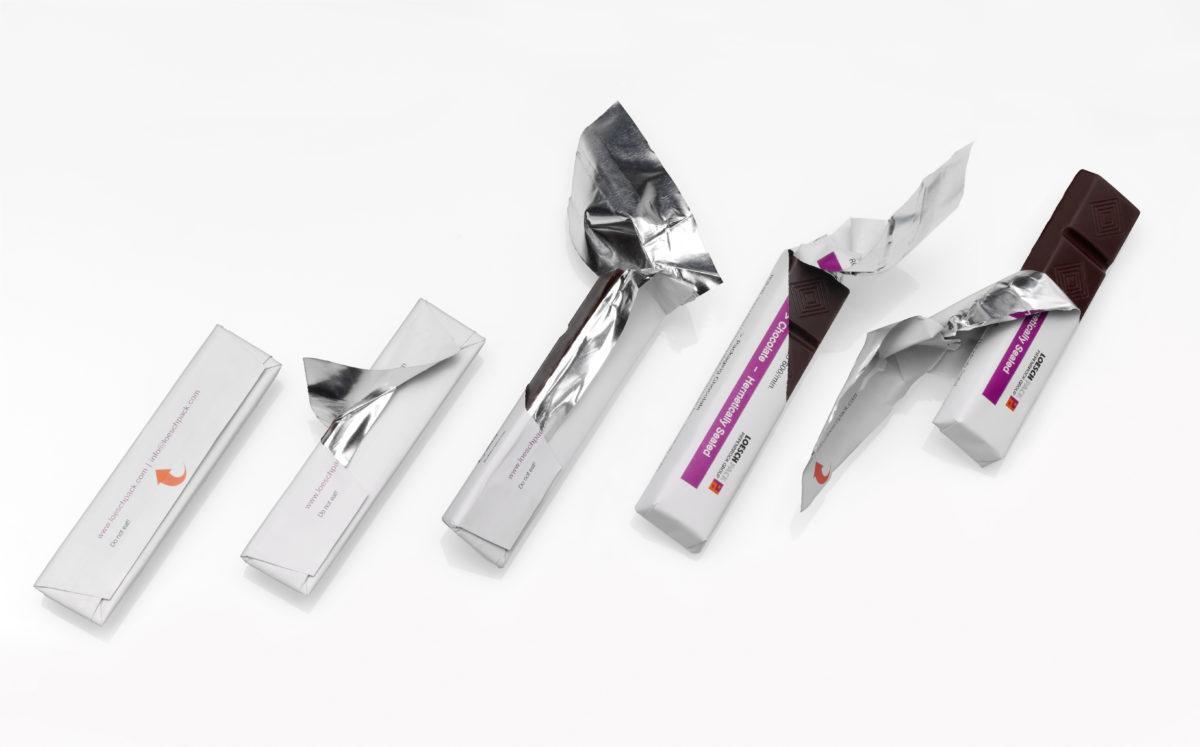 Beim Verschließen der Packung wird auf eine Klebstoffapplikation komplett verzichtet. (Bild: LoeschPack)