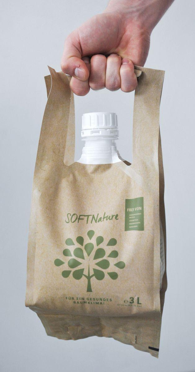 Brainypack-Verpackung: Hoher Tragekomfort und Standfestigkeit