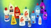 Beispiele für auf Kautex-Maschinen gefertigte Flaschen aus den 1960er-Jahren.