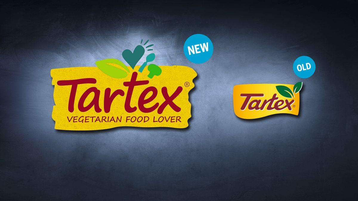 Neues und altes Logo von Tartex