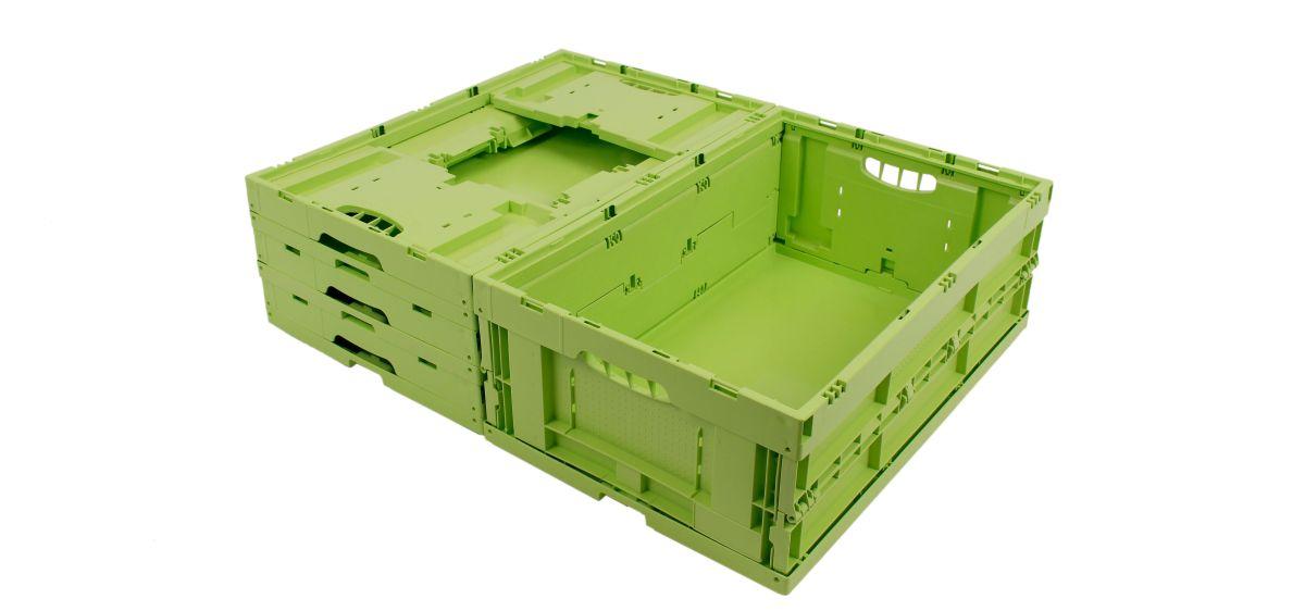 """Biofaltbox """"Greenline bio"""" von Walther Faltsysteme"""