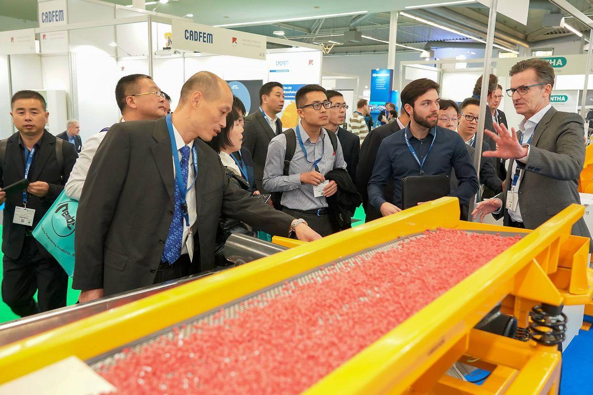 Mehr internationale Besucher auf der SOLIDS und Recycling-Technik 2018
