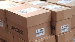 Die Schrauben-Jäger AG verschickt täglich über 1.400 Sendungen.