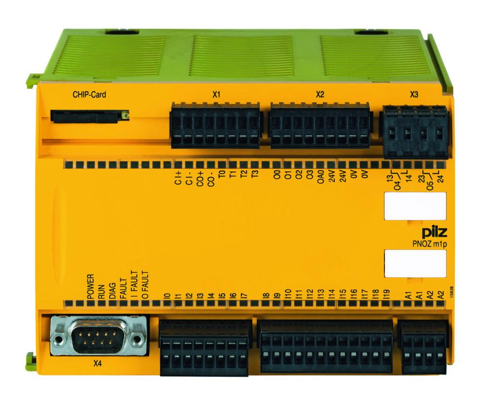 1987 brachte Pilz dann das erste Not-Aus-Schaltgerät PNOZ auf den Markt. (Bild: Pilz GmbH & Co. KG)