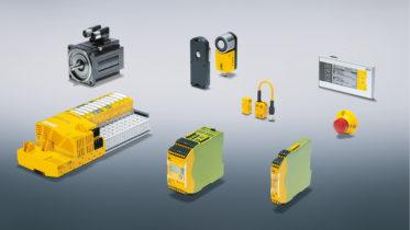Für die Verpackungsindustrie stehen Lösungen aus den Bereichen Steuerungstechnik, Antriebstechnik, Sensorik und Visualisierung zur Verfügung. (Bild: Pilz GmbH & Co. KG)
