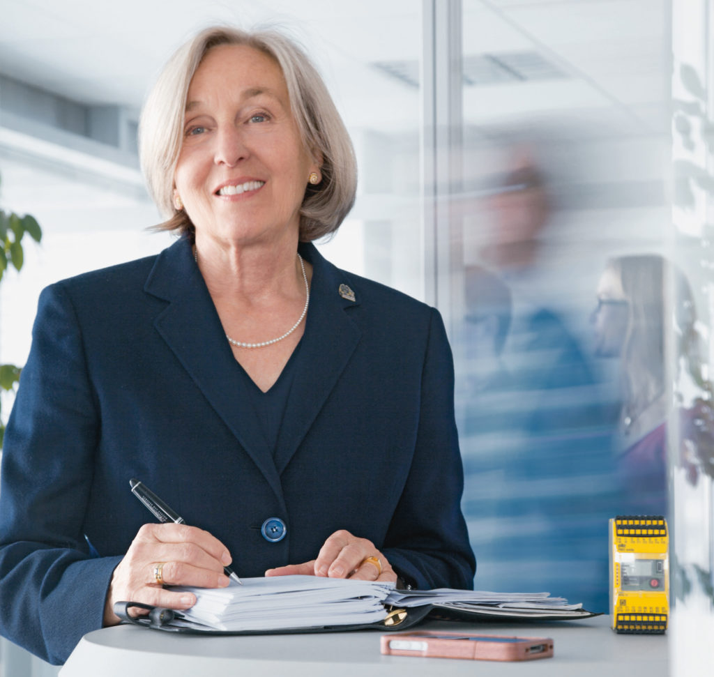 Die Grand Dame der Automatisierung: Mehr als 20 Jahre prägte Renate Pilz die Entwicklung des Familienunternehmens. (Bild: Pilz GmbH & Co. KG)