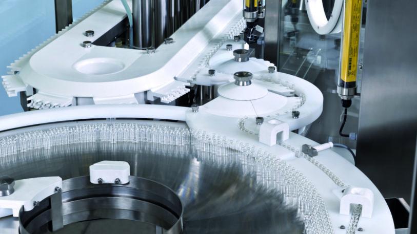 Jedes Vial enthält nur einen Milliliter Produkt und muss mit höchster Genauigkeit abgefüllt werden.