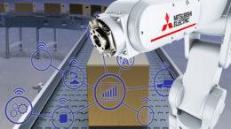 Auch die Verpackungsindustrie passt sich unter der Einwirkung globaler Einflussfaktoren wie Regulierung, Fachkräftemangel und digitaler Transformation den veränderten Marktanforderungen an. (Bild: Mitsubishi Electric Europe B.V.) B.V.)