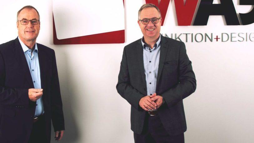 Neue W.AG-Doppelspitze: Christof Hanschke (l.) und Bertram Göb (r.) (Bild: W.AG Funktion + Design GmbH)