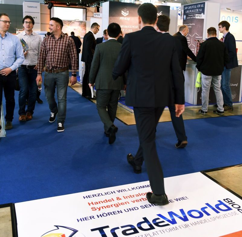"""Trade World"" auf der LogiMAT"