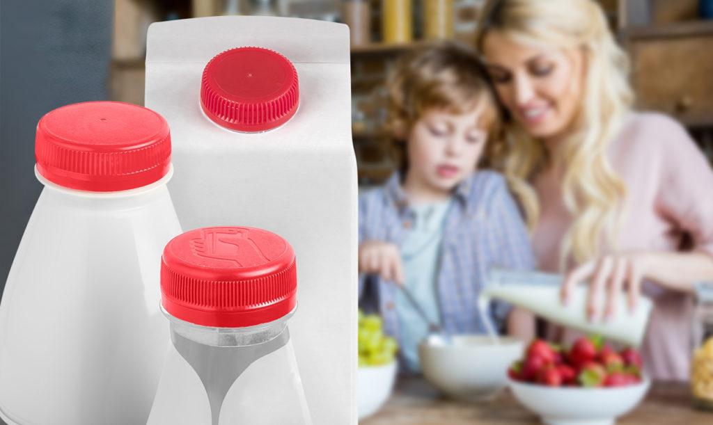 Verschlüsse schützen im sensiblen Milchproduktesektor den Geschmack, den Vitamingehalt und die Farbe der Erzeugnisse. (Bild: Bericap)